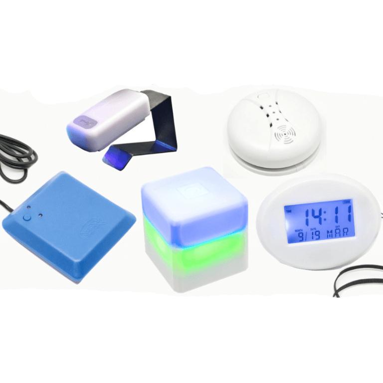skaņas indikators ar gaismas signāls
